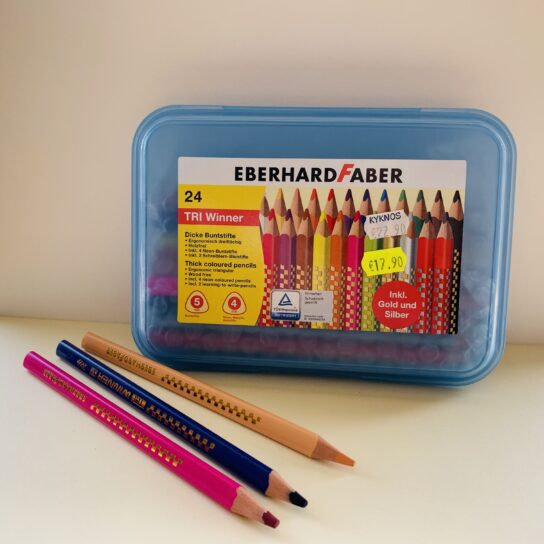 EberhardFaber Tri winner coloured pencils 24 col.